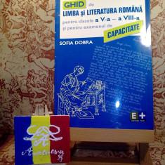 Sofia Dobra - Ghid de limba si literatura romana pentru clasele V - VIII