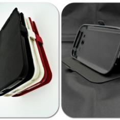 Husa Telefon - Toc FlipCover Stand Magnet HTC One X9 NEGRU