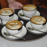 Bucatarie - Set 16 forme pentru decorare cafea, capucino, prajituri