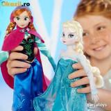 Set Papusi Anna si Elsa Frozen (Originale Disney)