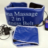 Centura de slabit Sauna Massage 2 in 1 Fitness Belt