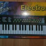 Orga muzicala pentru copii electrica