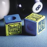 Creta Biliard Triangle Albastra Set 12 buc - Jocuri Board games