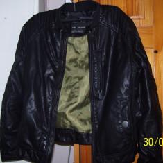 Geaca piele ecologica Zara 9-10 ani, Marime: Alta, Culoare: Din imagine