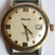 Anjax Ancre 17 rubis Antichoc  placat cu aur