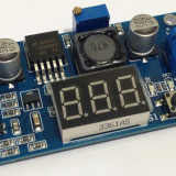 DC-DC converter step-down, IN: 4.0-40V, OUT: 1.3-37V, (2A) 470+V MH