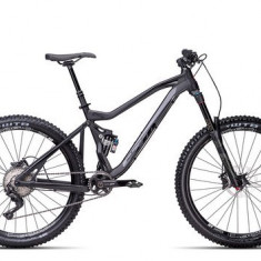 Biciclete Full Suspension CTM Scroll Pro Xt, 2016, cadru LG, negru mat / negru Cod Produs: 035.01 - Mountain Bike