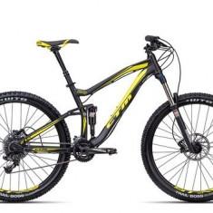 Biciclete Full Suspension CTM Rawer Pro, 2016, cadru LG, negru mat / galben Cod Produs: 035.11 - Mountain Bike