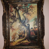 Tablou - Pictor roman, Peisaje, Tempera, Altul