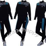 Trening Adidas pentru dama! - Trening dama Adidas, Marime: S, M, L, Culoare: Negru, Bumbac