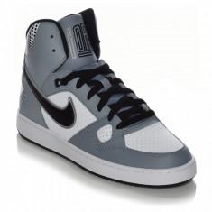 Ghete Nike Son Of Force MID Originale, Garantie, Masura 42, 43 - Adidasi barbati Nike, Culoare: Gri, Piele naturala
