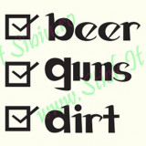 Beer Guns Dirt_Tuning Auto_Cod: CST-493_Dim: 15 cm. x 13.4 cm.