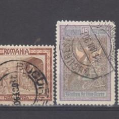 Romania de la 1906 lot timbre stampilate - Timbre Romania, Oameni
