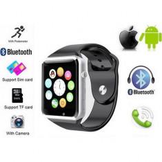 Smartwatch A1 Ceas Inteligent Cu SIM, Telefon NOi Cu GArantie si Factura.