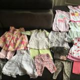 Lot hainute fetite 0-3 luni, Marime: 56, Culoare: Alb