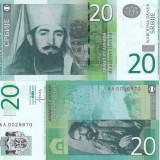 SERBIA 20 dinara 2013 UNC!!!