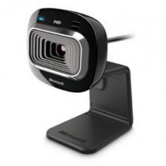 Camera web webcam Microsoft LifeCam HD-3000 rezolutie HD 720p, Peste 2.4 Mpx, CMOS, Microfon
