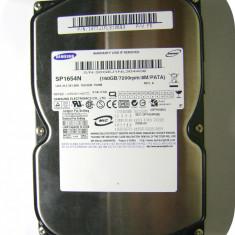 Hard Disk SAMSUNG 160 GB (SP1654N)_IDE_stare foarte buna, 100-199 GB, Rotatii: 7200, 8 MB