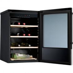 Vitrina de vinuri Electrolux ERW1170AO, 32 Sticle, Negru/Inox - Vitrina Frigorifica