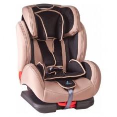 Scaun auto 9-36 kg DiabloFix cu Isofix Beige Caretero - Scaun auto copii grupa 1-3 ani (9-36 kg)