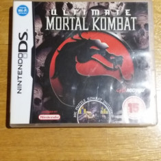 JOC NINTENDO DS ULTIMATE MORTAL KOMBAT ORIGINAL / by WADDER - Jocuri Nintendo DS Altele, Sporturi, 12+, Single player