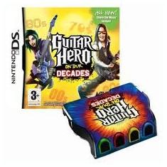 Guitar Hero On Tour Decades With Grip Nintendo Ds - Jocuri Nintendo DS Activision