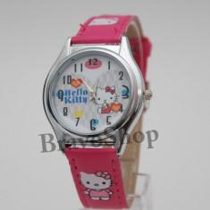 Ceas pentru fetite cu HELLO KITTY + Cutie Cadou - Ceas copii