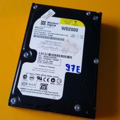 97E.HDD Hard Disk Desktop, 200Gb, Western Digital, 8Mb, Sata I, 200-499 GB, Rotatii: 7200