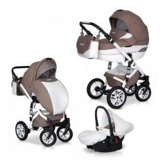 Caruciorul 3 in 1 Durango Latte Euro-Cart - Carucior copii 3 in 1 Euro-cart, Maro