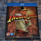 Film - Indiana Jones: The Complete Adventures [4 Filme - 5 Discuri Blu-Ray], UK - Film Colectie paramount, Engleza