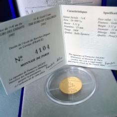 Moneda aur 24k Franta 2002