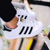 Adidasi Adidas Superstar 1 D - Adidasi dama, Marime: 36, 37, 38, 39, 40, 41, 42, Culoare: Alb, Textil