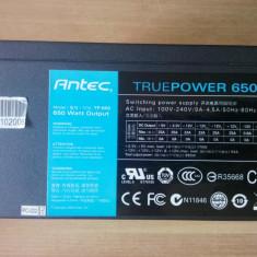 Sursa PC Modulara Antec Antec TruePower 650W 80 PLUS, 650 Watt