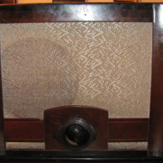 PVM - Radio vechi Philips model 752A lampi fabricat 1938 Germania - Aparat radio Philips, Analog