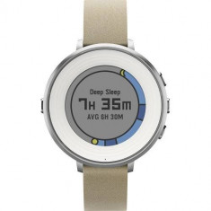 Smartwatch Pebble TIME ROUND Argintiu