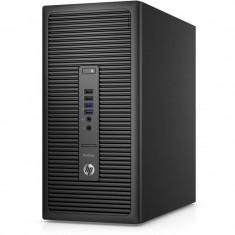 Sistem desktop HP ProDesk 600 G2 MT Intel Core i5-6500 4GB DDR4 500GB HDD Windows 10 Pro downgrade la Windows 7 Pro Black - Sisteme desktop fara monitor
