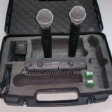 Set microfoane profesionale Shure fara fir