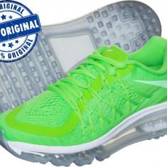 Adidasi dama Nike Air Max 2015 - adidasi originali - running - alergare - Adidasi barbati Nike, Marime: 38.5, 39, 40, Culoare: Verde, Textil