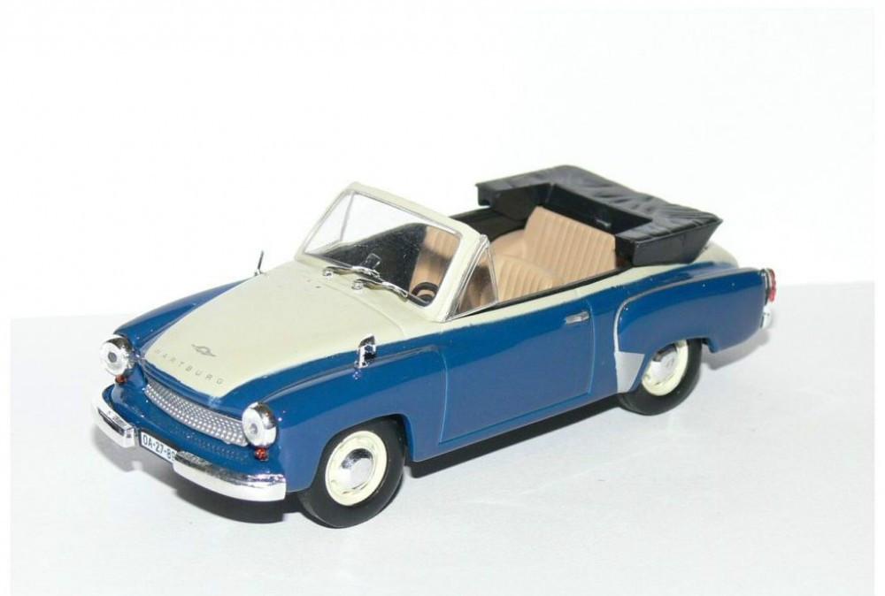 macheta wartburg 311 2 cabrio masini de legenda polonia 1. Black Bedroom Furniture Sets. Home Design Ideas