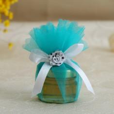 Marturii nunta borcanele miere in tull