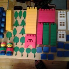 Set 74 cuburi de constructie (XXL) - Jocuri Seturi constructie