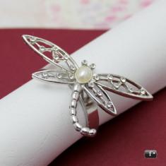 Inel pentru servete libelula - Marturii nunta
