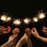10 Artificii cu scantei stelute de pom 20cm/40sec