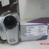CAMERA CANON DC201 (LM02) - Camera Video Canon, Mini DV, 30-40x