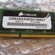 Ram ddr3 laptop 4 gb 1066mhz CORSAIR MAC MEMORY, 4 GB, functional - Memorie RAM laptop