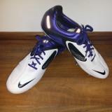 Ghete Fotbal Nike CTR360 Maestri II Elite SG, Marime: 45, Culoare: Alb