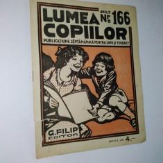Revista lumea copiilor Nr. 166 - Reviste benzi desenate