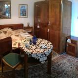 Set mobila antica de nuc - Mobilier