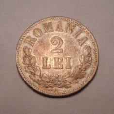 Monede Romania - 2 lei 1873 Piesa de Colectie