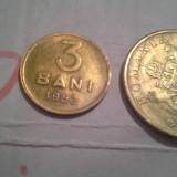 3 BANI 1952+ CADOU 2000 LEI /2 FRUMOASA - Moneda Romania